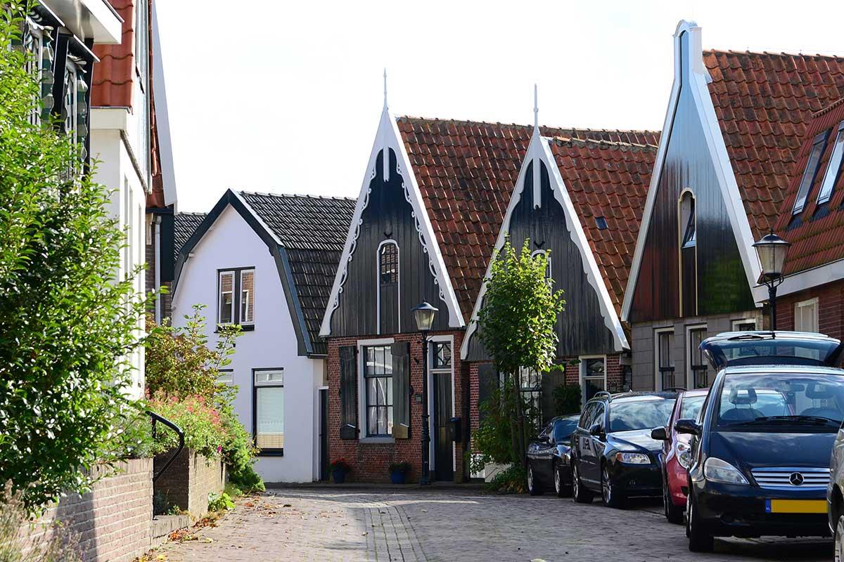 Den Hoorn, im Süden Texels