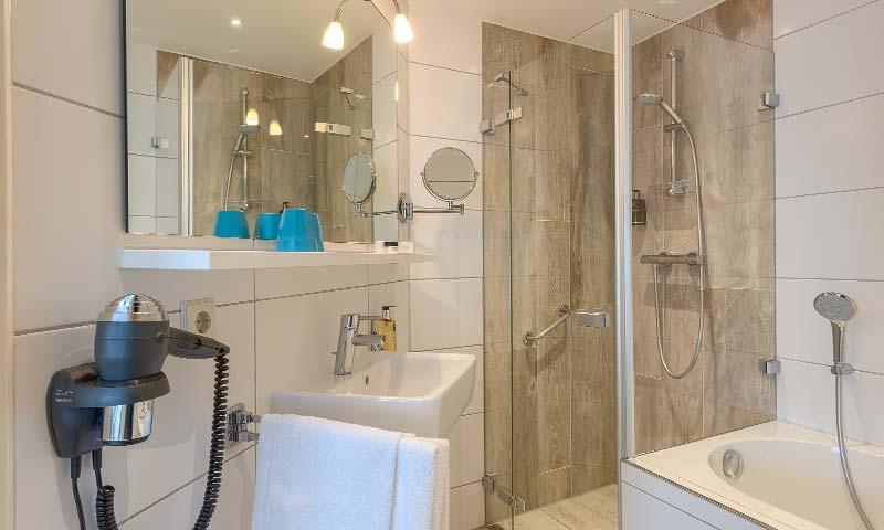 Double room type comfort plus with bathroom