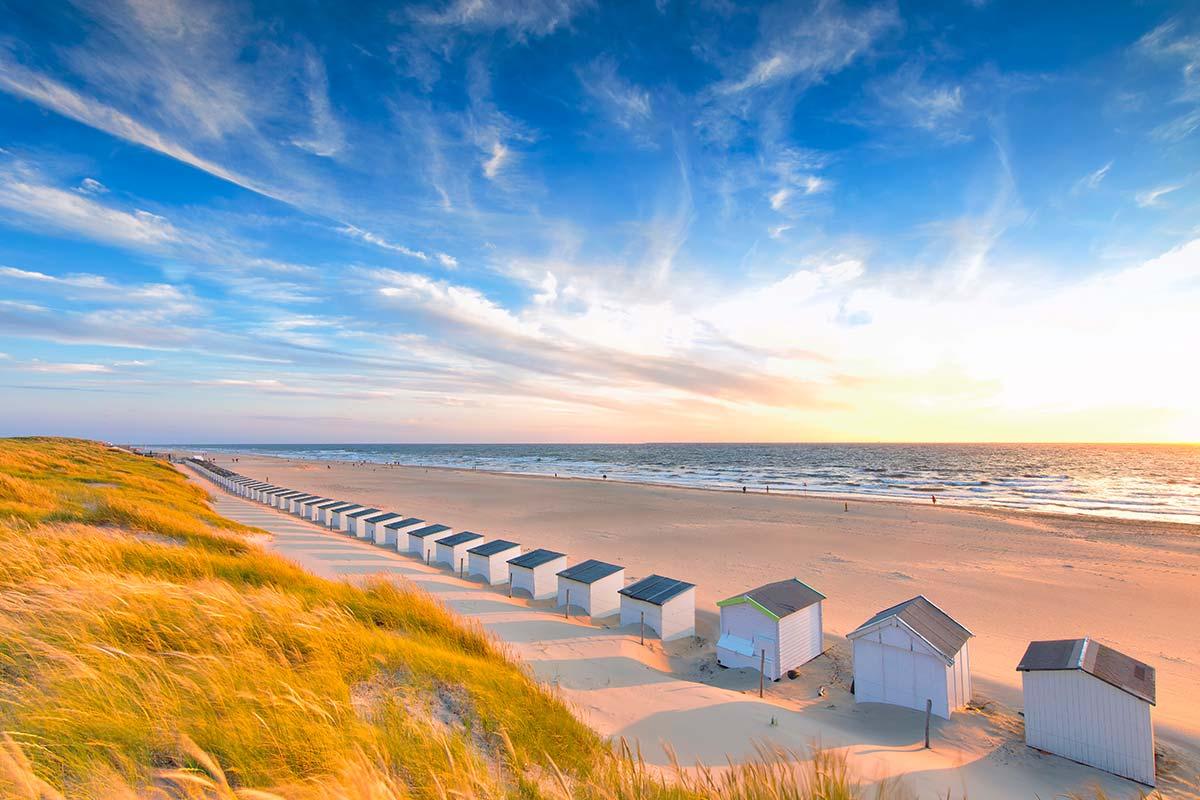 Hotel op Diek in Strandnähe